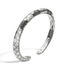 NEW John Hardy Legends Naga cuff bracelet Sz L CBS6510614BLSXL $1100