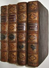 Leather Set;ADDISON Works!FIRST EDITION Rare Printed 1721!Gift library spectator