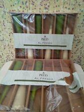 9 x UNLIT PRICES GARDEN FLARE CANDLES -BONFIRE NIGHT /CHRISTMAS🎆 (1.5 hrs burn)