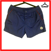 Moncler Mens Boxer Mare Swim Shorts Trunks Drawstring M Medium Navy Blue