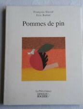 """""""POMMES DE PIN"""" FRENCH POETRY PAPERBACK BOOK ISBN 2268053695"""
