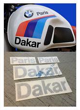 adesivi BMW per serbatoio Paris Dakar  - adesivi/adhesives/stickers/decal