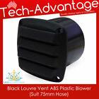 """Black Bilge Blower 75mm (3"""") Tail End Exhaust Outlet Vents - Boat/caravan/yacht photo"""