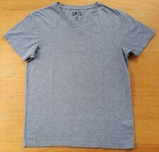 Men's Grey T-Shirt, Slim Fit, Size Medium