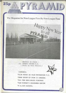 PYRAMID Issue No.10 (Non League Football Magazine) feat. Vale Recreation