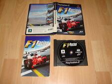 F1 RACING CHAMPIONSHIP FORMULA 1 ONE PARA LA SONY PS2 USADO COMPLETO