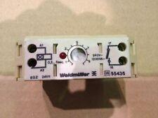 Weidmuller Adjustable Timer EGZ 24VDC 55436