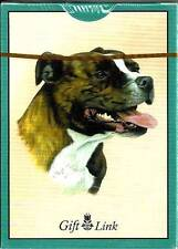 Dog Playing Cards Sealed Deck Staffordshire Bull Terrier Staffy 2006 Gift Link