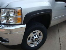 Factory Style Fender Flares for 2007-2013 Chevy Silverado 1500 4D Crew Cab