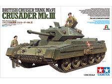 Tamiya 1/35 scale WW2 British Crusader MK III tank