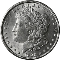 1885-P Morgan Silver Dollar Brilliant Uncirculated - BU