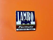 LAMBORGHINI LAMBO FORMULA 1 GRAND PRIX RACING HAT PIN V12