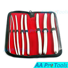 8 Piece Dilator Set With Pouch - Hegar Sounds Dilator Set Stainless Steel