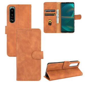 For Sony Xperia Ace II / 1 5 10 III 8 II Magnetic Flip Leather Wallet stand Case