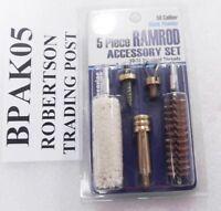 DAC Muzzleloader Ramrod End Kit 10/32 Thread 5 Piece Jag Puller Hook Brush Swab