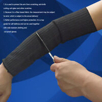 Steel Wire Safety Anti-cutting Arm Sleeves Gardening Work Guard Protection Tool