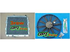 aluminum Radiator &FAN Toyota Hilux RZN149R RZN169R RZN174 97-05 2.7L
