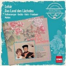 """ROTHENBERGER/GEDDA/MATTES """"DAS LAND DES LÄCHELNS"""" 2 CD NEU"""