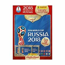 Fifa World Cup Russia 2018 ~ Panini Sticker Collection ~ Starter Album Pack