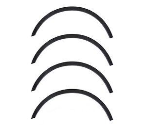 Extensions d'aile Noir mat style 4 pièces kit FORD FIESTA Mk7 année 2008-2012
