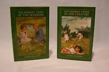 The Bobbsey Twins 2 Book Lot by Laura Lee Hope