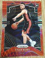 2019-20 Panini Prizm Tyler Herro Red Wave Rookie RC #259 Miami Heat