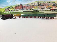 Dinky Toys Pre War No.19 Goods Train  And Wagons Original