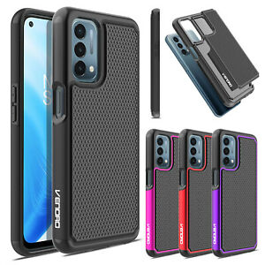 For OnePlus Nord N200 5G Case Shockproof Hybrid TPU Rugged Cover /Tempered Glass
