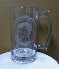 United States Marine Corps The Basic School Echo Company Glass Stein EUC