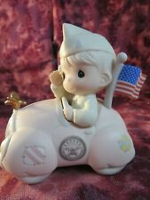 "Precious Moments- #136271-""You Will Always Be My Hero""-Wwii Commemorative -Nib"