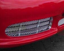 Porsche Boxster Front Bumper BLACK Mesh Grill Kit 986