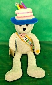 Chantilly Lane Happy Birthday Musical Bear Light Up Hat Animated - FREE SHIPPING
