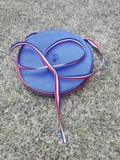 RUBAN tissu  largeur  10 mm tricolore bleu blanc rouge au mètre
