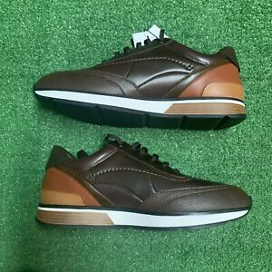 Zara Man Mens Sneakers Shoes Brown Low Top Lace Up Size US 10 EU 43