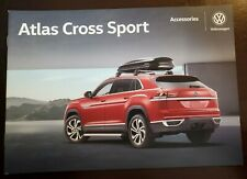 2018 VW ATLAS CROSS SPORT Accessories 16-page Original Sales Brochure