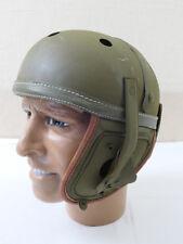 "Us Army ww2 Tank Helmet tanques casco ""Fury"" petrolero Helmet m-1938 casco de tanques"