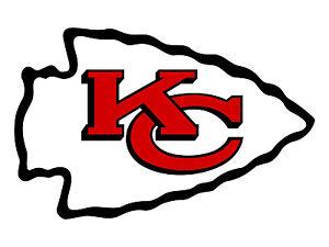 """Kansas City Chiefs Decal Indoor - Outdoor - Car-  Truck - Window 4"""" x 6"""""""
