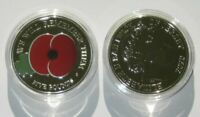 The new 2020 'We Will Remember Them' £5 Coin Poppy Remembrance in coin capsule