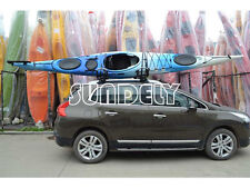 SPORTS SMALL KAYAK RACK WITH STRAPS t rack canoe sit on top roof rack