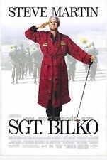 SGT. BILKO Movie POSTER 27x40 Steve Martin Dan Aykroyd Phil Hartman Glenne