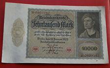 10000 MARCOS 1922 ALEMANIA EBC-SC