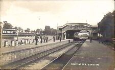 Warminster Railway Station.