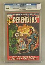 THE DEFENDERS #1 Marvel Comics 1972 CGC 5.0 Dr. Strange Submariner & Hulk Begin