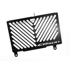 Honda CB 500 F / X / R BJ 13-15 Kühlerabdeckung Wasserkühler Black Logo schwarz