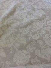 sanderson floral Jacquard fabric in natural by the metre