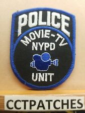 MOVIE-TV UNIT, POLICE PATCH
