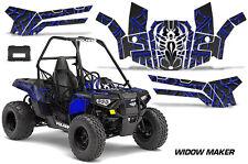 Polaris Sportsman ACE 150 ATV Graphic Kit Wrap Quad Accessories Decals WIDOW BLU