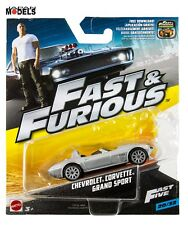 Fast & Furious CHEVROLET CORVETTE GRAND SPORT 1/55 Mattel Hot Wheels 20/32 New