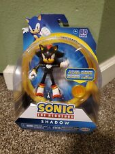 NEW ARTICULATED Shadow the Hedgehog Jakks Pacific SONIC 4 Inch Toy Figure Movie