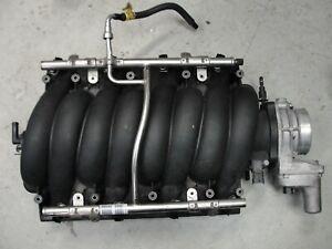 GM LS3 Intake Manifold L99 12602477 LSX Swap GM Rail Injectors Throttle Body MAP